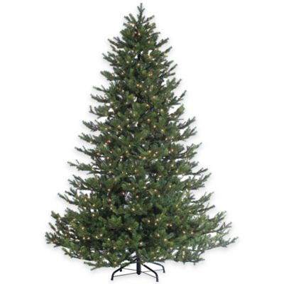 Rockford Pine 7.5-Foot Pre-Lit Christmas Tree with Clear Lights