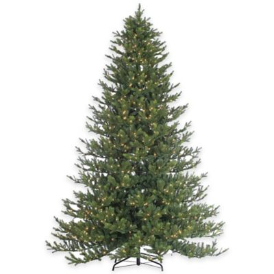 Rockford Pine 9-Foot Pre-Lit Christmas Tree with Clear Lights