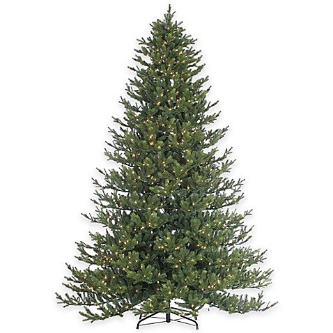 Rockford Pine 9 Foot Pre Lit Christmas Tree With Clear