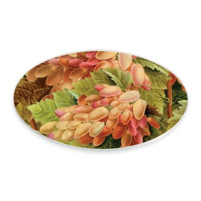 Boston International Grape Vine Oval Serving Plate