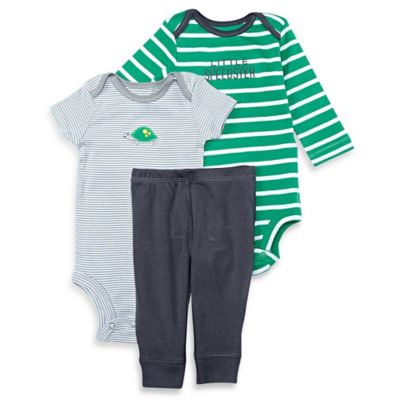 Green Grey Bodysuit and Pant Set