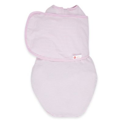 Embe® Classic 2-Way Swaddle™ in Pink Stripe