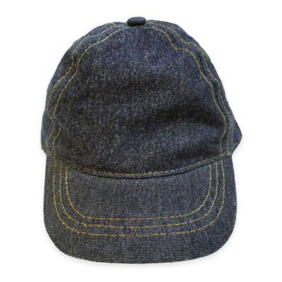 So'Dorable Contrast Stitched Denim Baseball Cap
