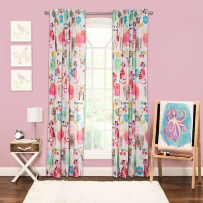 Pink Curtains Rods