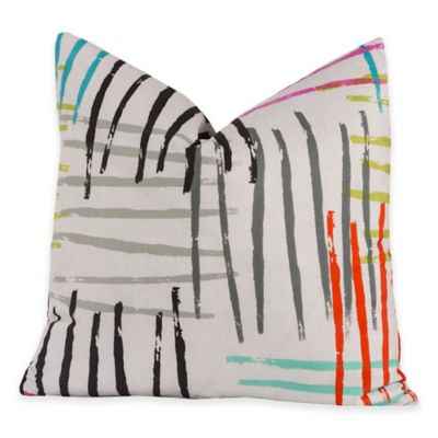 Crayola® Stroke of Genius 20-Inch Square Throw Pillow