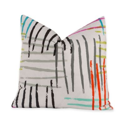 Crayola® Stroke of Genius 16-Inch Square Throw Pillow