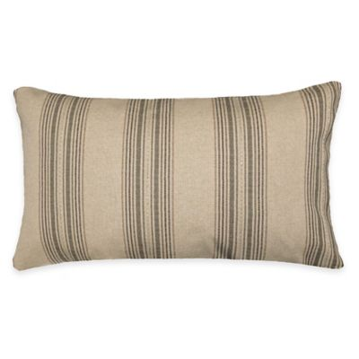 Spratt Oblong Throw Pillow in Camel