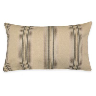 Spratt Oblong Throw Pillow in Berry