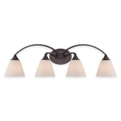 Illumina Direct Caden 4-Light Wall-Mount Bath Fixture in Dark Oil Rubbed Bronze