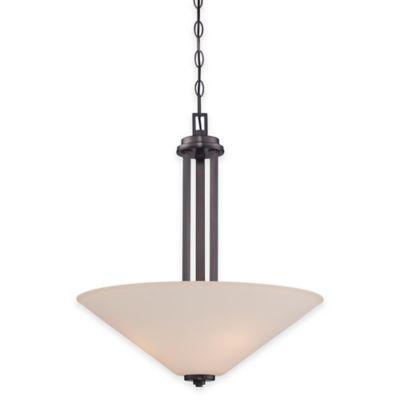 Illumina Direct Caden 3-Light Mini Pendant in Oil Rubbed Bronze
