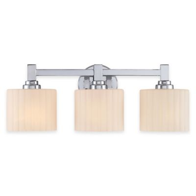 Illumina Direct Lillian 3-Light Vanity Fixture in Polished Chrome