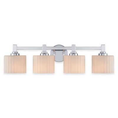 Illumina Direct Lillian 4-Light Wall-Mount Bath Fixture in Polished Chrome