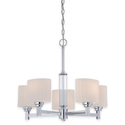Illumina Direct Lillian 5-Light Chandelier in Polished Chrome