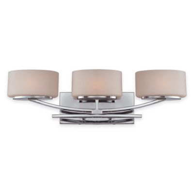 Illumina Direct Madelyn 3-Light Bath Vanity Fixture in Polished Chrome