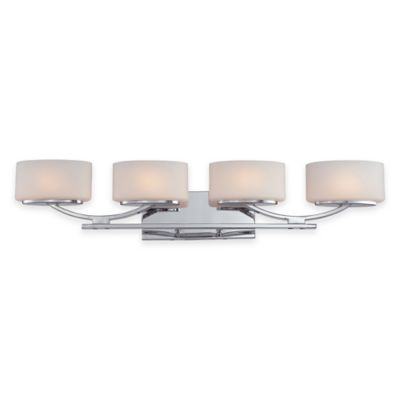 Illumina Direct Madelyn 4-Light Vanity Fixture in Polished Chrome