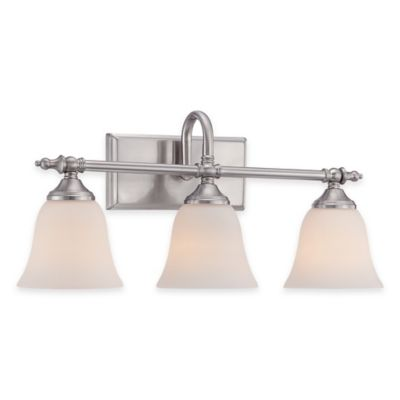 Brushed Nickel Vanity Fixture