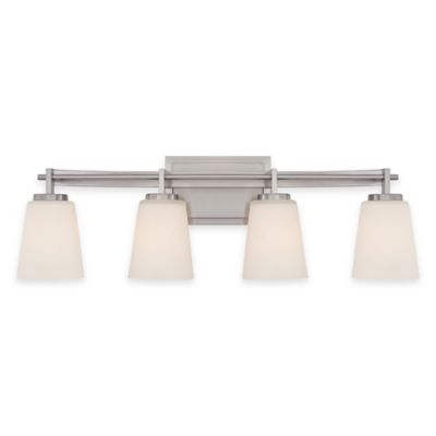 Illumina Direct 4-Light Julia Vanity Fixture in Brushed Nickel