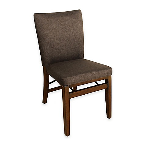 Buy Harper Folding Chair in Brown from Bed Bath & Beyond