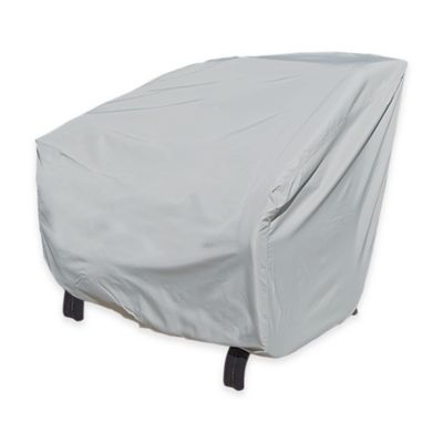 SimplyShade Polyester X-Large Protective Chair Cover in White