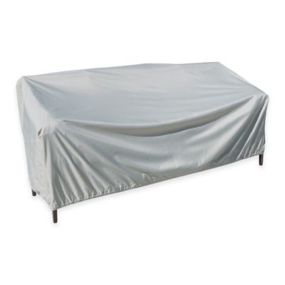 SimplyShade Polyester X-Large Protective Sofa Cover in White
