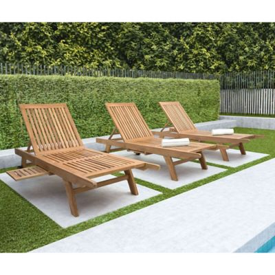 Deck Lounge Chaise