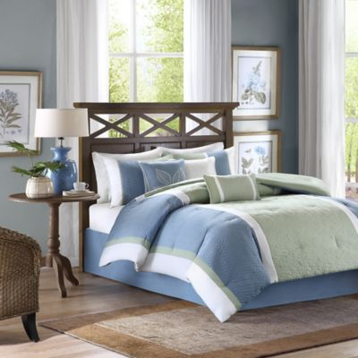 Madison Park Bethany 7-Piece Queen Comforter Set