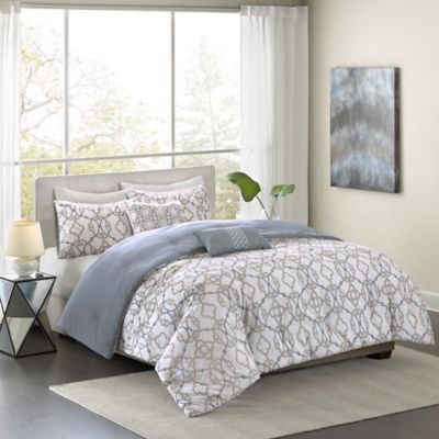 Madison Park Pure Sophie 5-Piece Full/Queen Comforter Set
