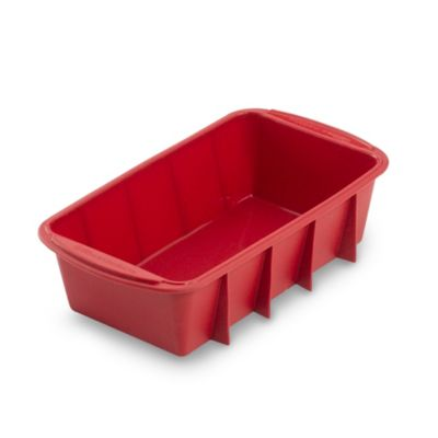 "Wilton® Ultra-Flex™ Silicone Non-Stick 9 1/4"" L x 5 1/4"" W Loaf Pan"