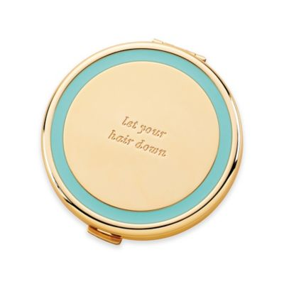 "kate spade new york Holly Drive ""Let Your Hair Down"" Compact Mirror"