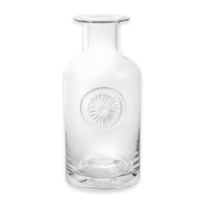 Dartington Crystal 10.5-Inch Gerbera Daisy Vase in Clear