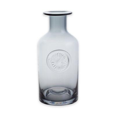 Dartington Crystal 10.5-Inch Gerbera Daisy Vase in Midnight Blue