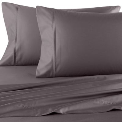 Perfect Touch 625-Thread-Count King Deep Pocket Sheet Set in Charcoal