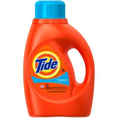 Tide® 50 oz. 2x Liquid Laundry Detergent in Clean Breeze