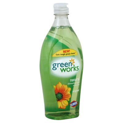 Clorox® Green Works 22 oz. Natural Dishwashing Liquid in Free and Clear