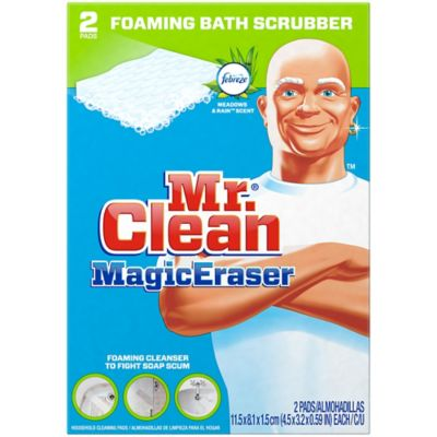 Mr. Clean Bath Scrubber