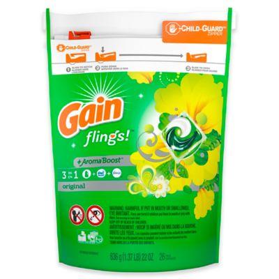 Gain Flings 31-Count Laundry Detergent Pacs