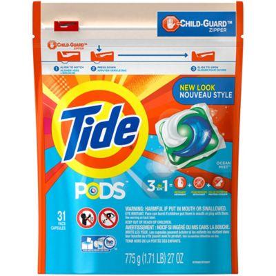 Tide® PODS 31-Count Laundry Detergent in Ocean Mist