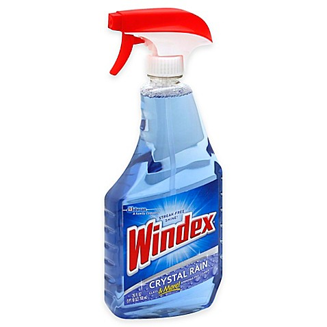 Windex Crystal Rain 26 Oz Trigger Glass Cleaner