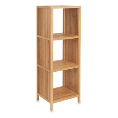 4-Tier Bamboo Storage Rack in Natural