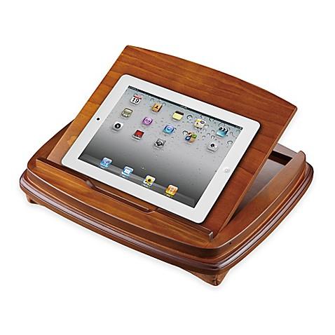 Adjustable Wood Lap Desk Tablet Stand Bed Bath Amp Beyond