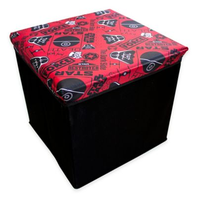 Star Wars™ Small Storage Cube in Red