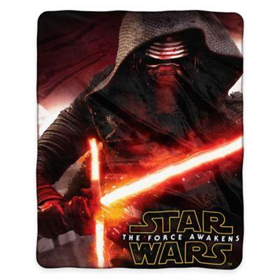 "Star Wars™ Episode VII: Force Awakens ""Aftermath"" Raschel Plush Throw Blanket"