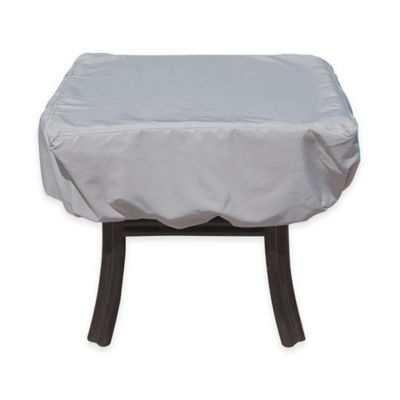 SimplyShade Polyester Protective Small Table Cover in White
