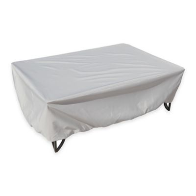 SimplyShade Polyester Protective Occasional Table Cover in White