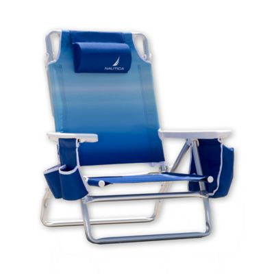 Nautica® 5-Position Ipanema Beach Chair in Blue