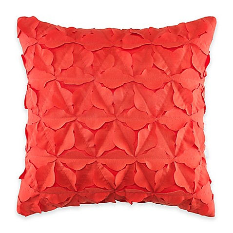 Throw Pillows Ruffle : Buy Teen Vogue Dots and Dashes Ruffle Square Throw Pillow from Bed Bath & Beyond