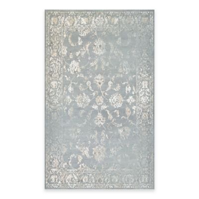 Couristan® Provincia Botanic Applique 5-Foot 3-Inch x 7-Foot 6-Inch Area Rug in Beige/Grey