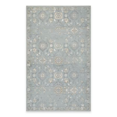 Couristan® Provincia Odette 3-Foot 11-Inch x 5-Foot 3-Inch Area Rug in Mint/Cream