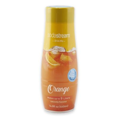 Sodastream® Fountain Style Orange Flavored Sparkling Drink Mix