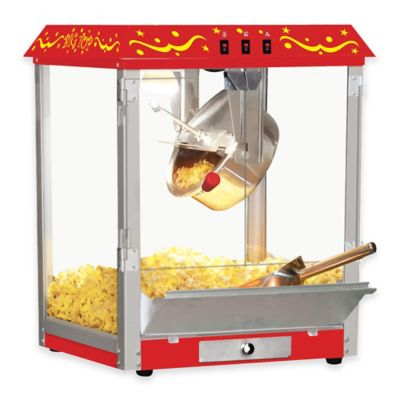 Big Top Tabletop Popcorn Machine in Red